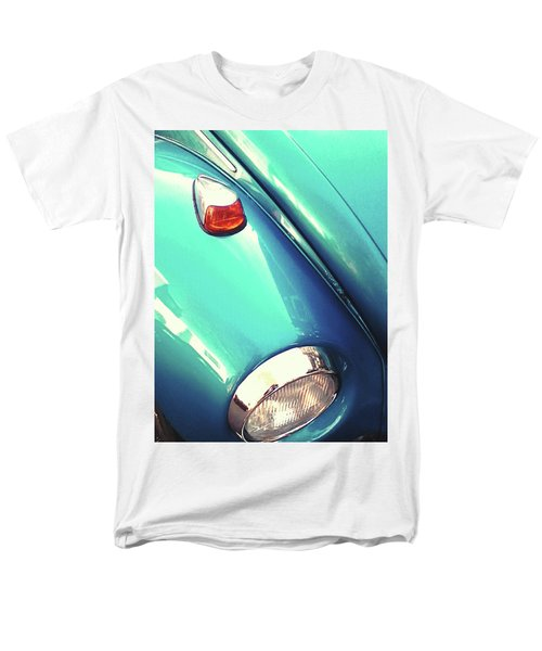 Beetle Blue Men's T-Shirt  (Regular Fit) by Rebecca Harman