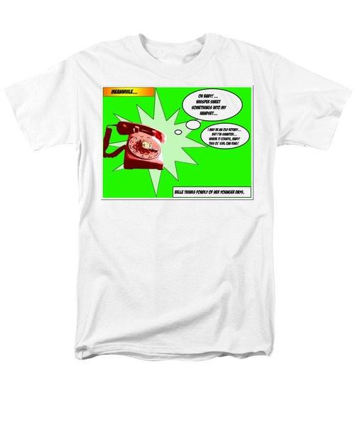Belle Men's T-Shirt  (Regular Fit) by Christopher Woods