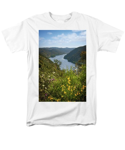 Men's T-Shirt  (Regular Fit) featuring the photograph Belver Landscape by Carlos Caetano
