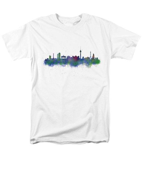 Berlin City Skyline Hq 2 Men's T-Shirt  (Regular Fit) by HQ Photo
