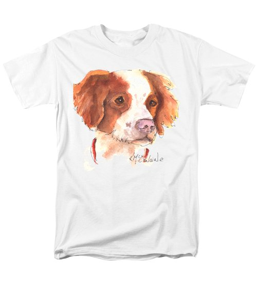 Best Dog By Kathleen Mcelwaine Men's T-Shirt  (Regular Fit) by Kathleen McElwaine