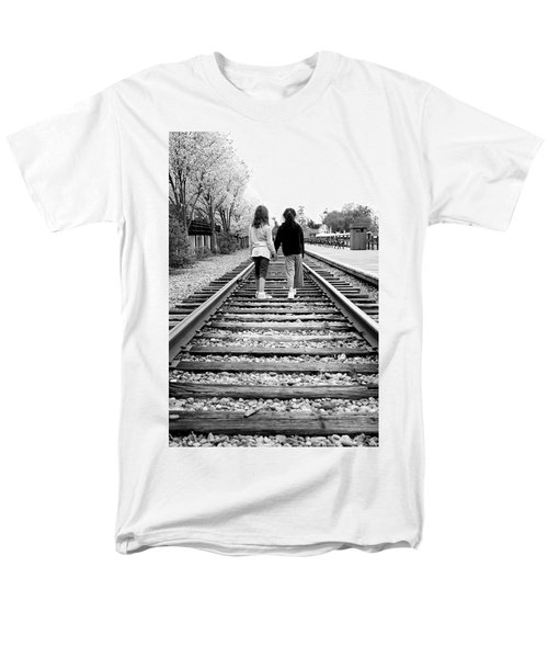 Men's T-Shirt  (Regular Fit) featuring the photograph Bff's by Greg Fortier