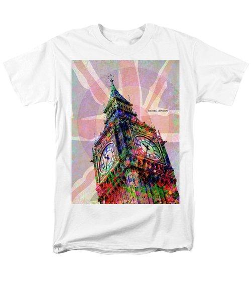 Big Ben Men's T-Shirt  (Regular Fit) by Gary Grayson