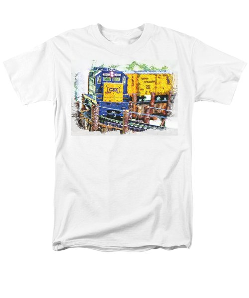 Men's T-Shirt  (Regular Fit) featuring the photograph Big Bend by Robert Pearson