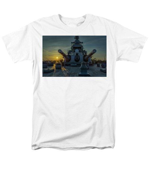 Big Guns At Sunset Men's T-Shirt  (Regular Fit) by Denis Lemay