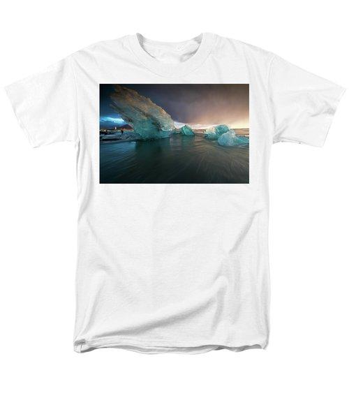 Big Ice Men's T-Shirt  (Regular Fit) by Allen Biedrzycki