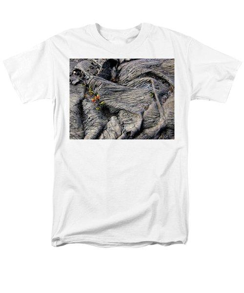 Big Island Lava Flow Men's T-Shirt  (Regular Fit) by Amelia Racca