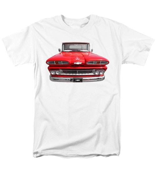 Men's T-Shirt  (Regular Fit) featuring the photograph Big Red - 1960 Chevy by Gill Billington