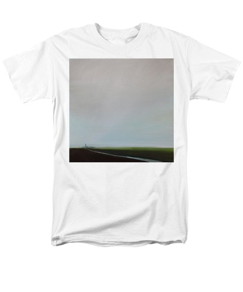 Men's T-Shirt  (Regular Fit) featuring the painting Big Sky by Tone Aanderaa