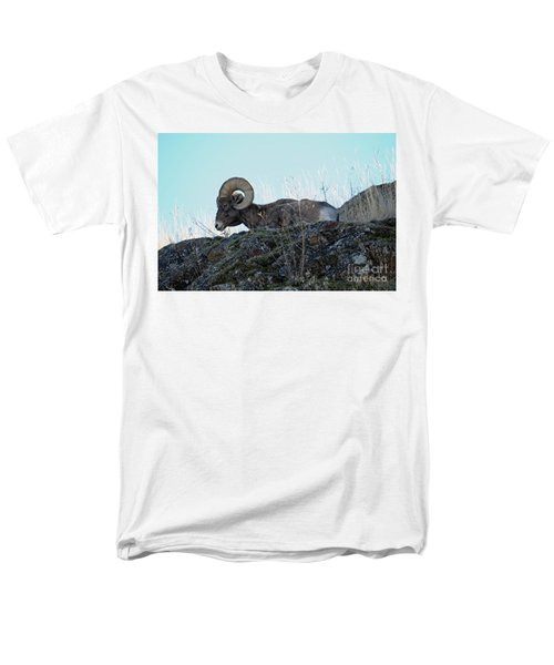 Bighorn Sheep Men's T-Shirt  (Regular Fit) by Cindy Murphy - NightVisions