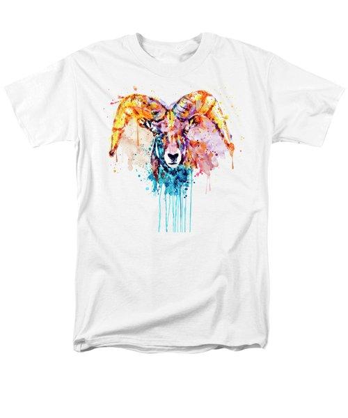 Bighorn Sheep Portrait Men's T-Shirt  (Regular Fit)