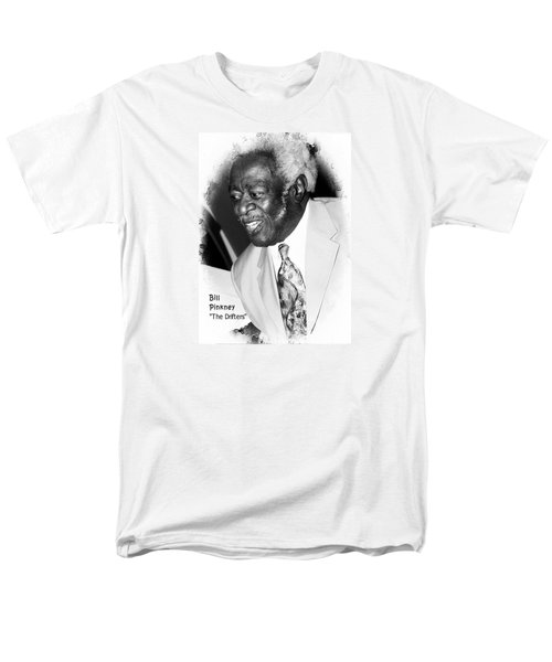 Men's T-Shirt  (Regular Fit) featuring the photograph Bill Pinkney Of The Drifters by Bob Pardue