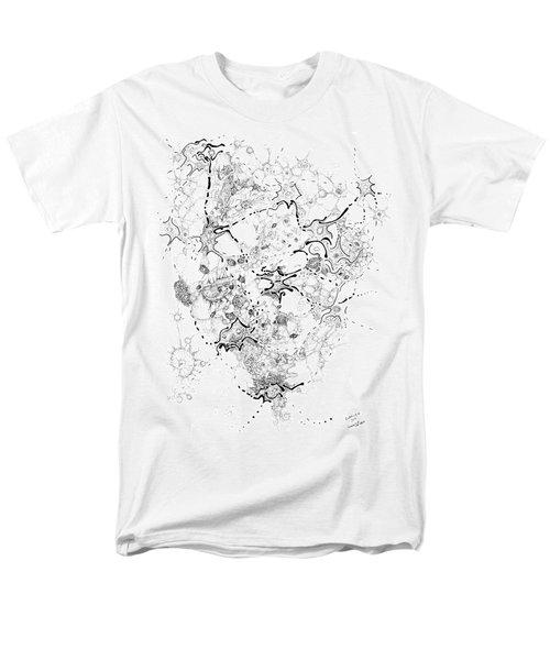 Biology Of An Idea Men's T-Shirt  (Regular Fit) by Regina Valluzzi