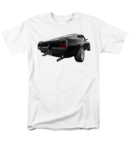 Black 1967 Mustang Men's T-Shirt  (Regular Fit) by Gill Billington