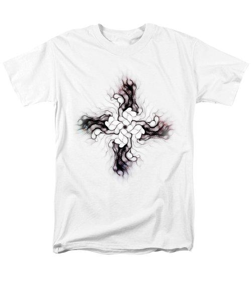 Black Cross Men's T-Shirt  (Regular Fit) by Anastasiya Malakhova