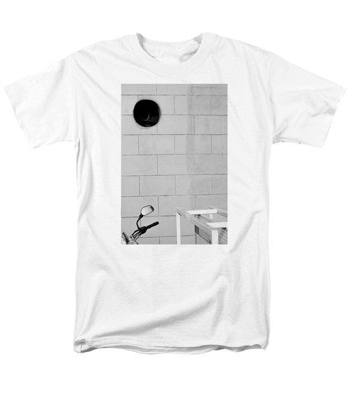 Black White Grey Men's T-Shirt  (Regular Fit) by Prakash Ghai