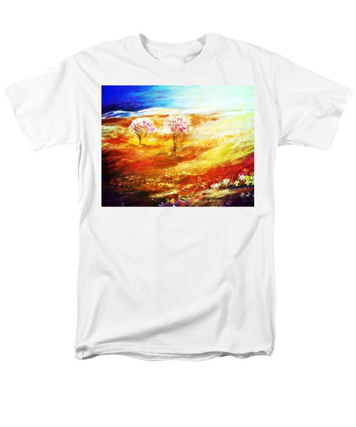 Blossom Dawn Men's T-Shirt  (Regular Fit)