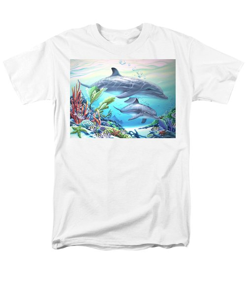 Blowing Bubbles Men's T-Shirt  (Regular Fit) by William Love