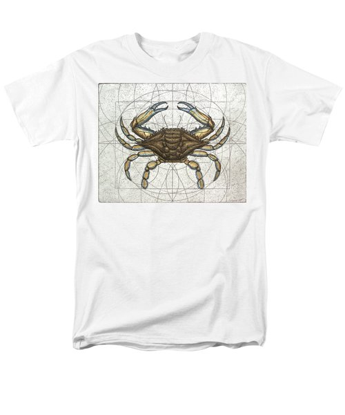 Blue Crab Men's T-Shirt  (Regular Fit) by Charles Harden
