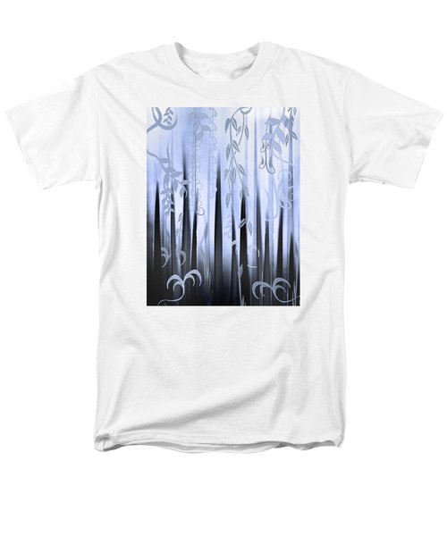 Blue Forest Men's T-Shirt  (Regular Fit) by Deborah Smith