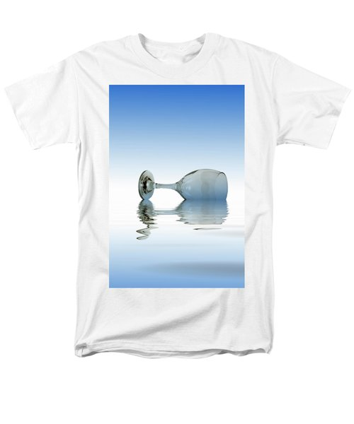 Blue Glass Men's T-Shirt  (Regular Fit) by David French