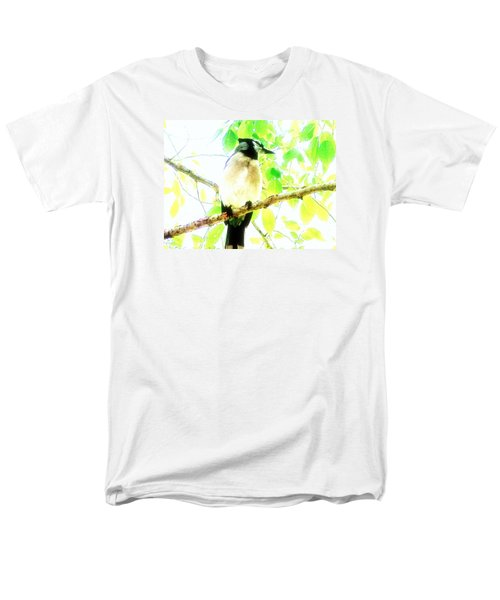 Men's T-Shirt  (Regular Fit) featuring the photograph Blue Jay IIi by Clarice  Lakota