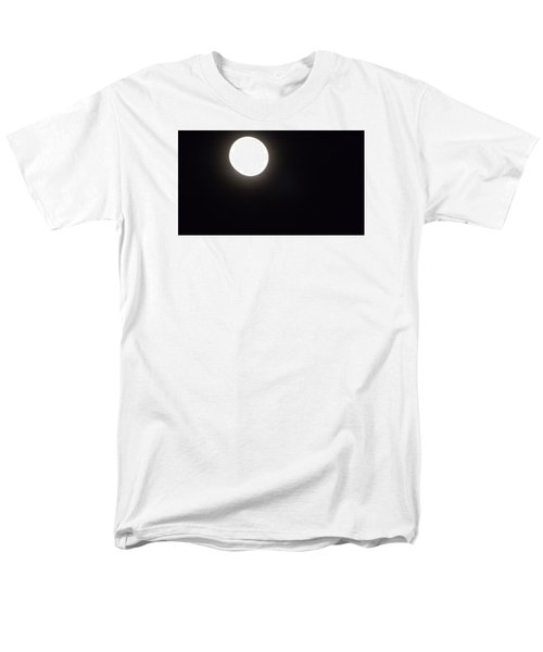Men's T-Shirt  (Regular Fit) featuring the photograph Blue Moon In July by Don Koester