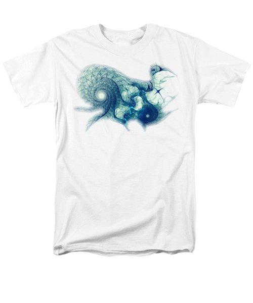 Blue Octopus Men's T-Shirt  (Regular Fit) by Anastasiya Malakhova