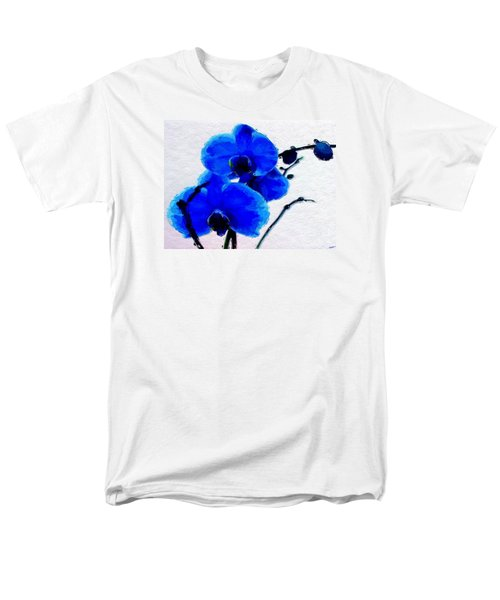 Blue Orchid  Men's T-Shirt  (Regular Fit) by Anthony Fishburne