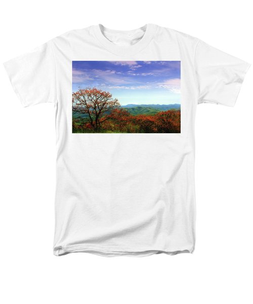 Men's T-Shirt  (Regular Fit) featuring the photograph Blue Ridge Blessing by Jessica Brawley