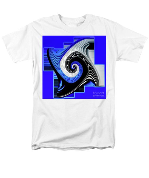 Blue River Men's T-Shirt  (Regular Fit) by Shadowlea Is