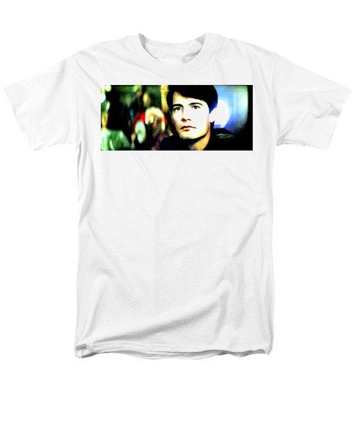 Blue Velvet  Men's T-Shirt  (Regular Fit) by Luis Ludzska