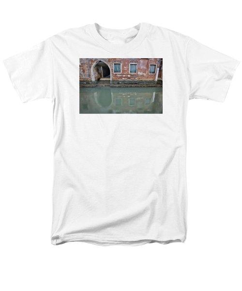 Men's T-Shirt  (Regular Fit) featuring the photograph Blue Windows by Sharon Jones