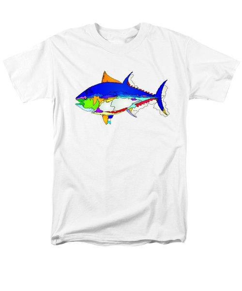 Bluefin Tuna  Men's T-Shirt  (Regular Fit) by Rafael Salazar