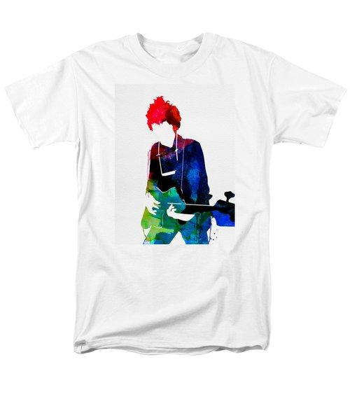 Bob Watercolor Men's T-Shirt  (Regular Fit) by Naxart Studio