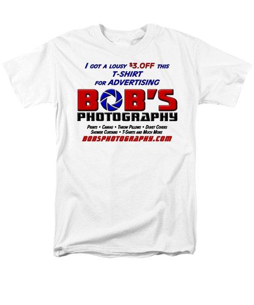 Bobs Photography T-shirt Men's T-Shirt  (Regular Fit) by Bob Slitzan