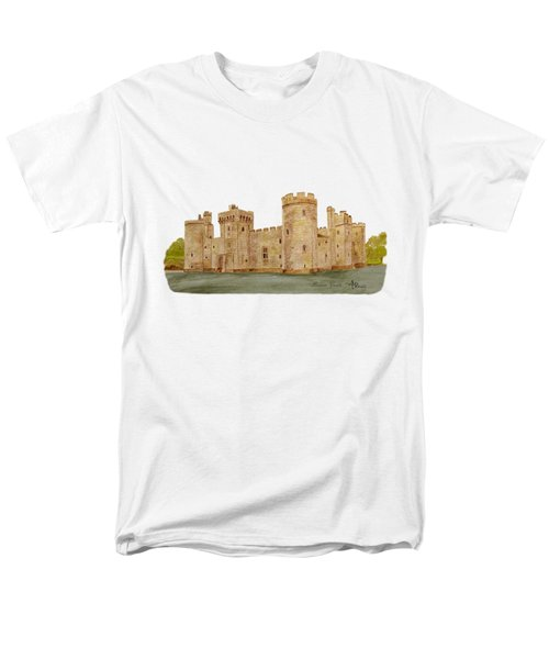 Bodiam Castle Men's T-Shirt  (Regular Fit) by Angeles M Pomata