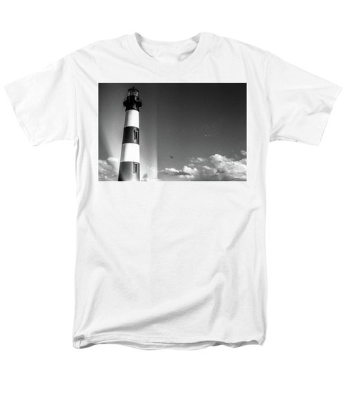 Men's T-Shirt  (Regular Fit) featuring the photograph Bodie Island Lighthouse by David Sutton