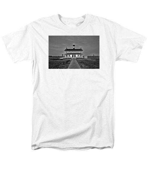 Bodie Lighthouse Night Men's T-Shirt  (Regular Fit) by Marion Johnson