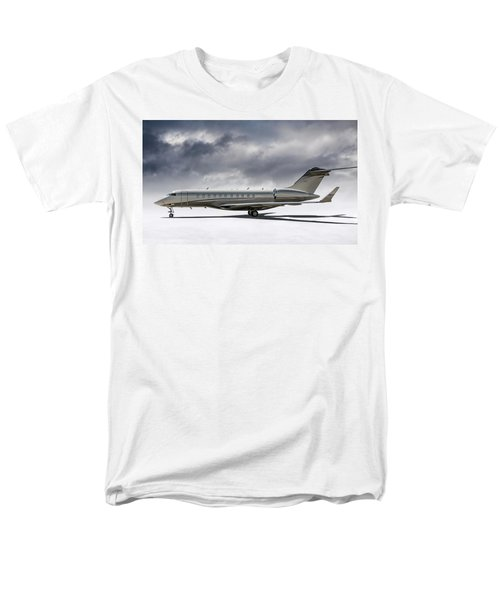 Bombardier Global 5000 Men's T-Shirt  (Regular Fit) by Douglas Pittman
