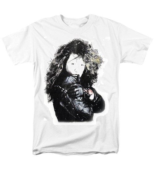 Men's T-Shirt  (Regular Fit) featuring the digital art Bon Jovi by Gina Dsgn