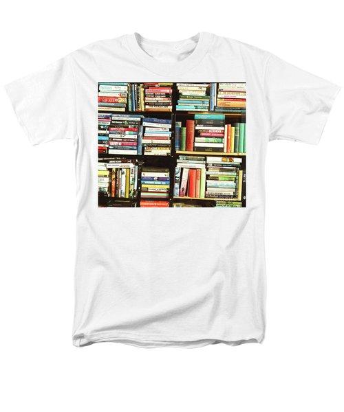 Book Shop Men's T-Shirt  (Regular Fit) by Rebecca Harman