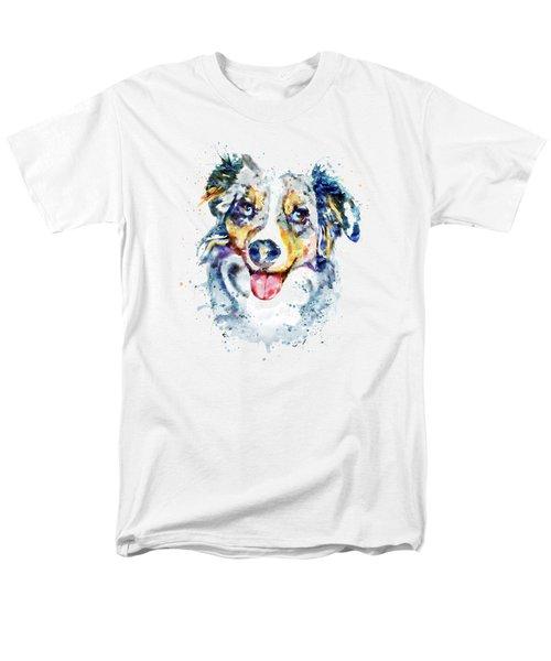 Border Collie  Men's T-Shirt  (Regular Fit) by Marian Voicu