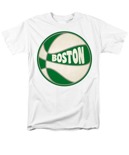 Boston Celtics Retro Shirt Men's T-Shirt  (Regular Fit) by Joe Hamilton