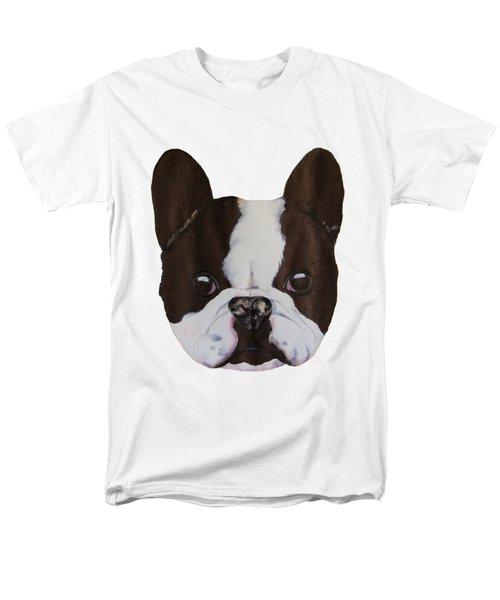 Boston Terrier Men's T-Shirt  (Regular Fit) by John Stuart Webbstock