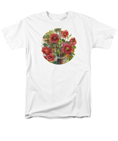 Bouquet Of Poppies Men's T-Shirt  (Regular Fit) by Mary Wolf