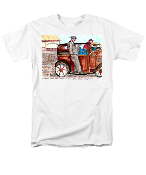 Bracco Candy Store - Window To Life As It Happened Men's T-Shirt  (Regular Fit) by Philip Bracco
