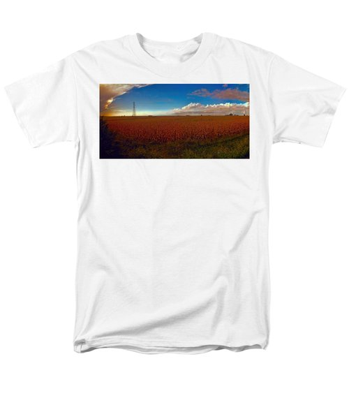 Bread Basket Dusk Men's T-Shirt  (Regular Fit) by Dave Luebbert