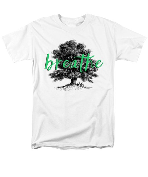 Men's T-Shirt  (Regular Fit) featuring the photograph Breathe Shirt by Edward Fielding