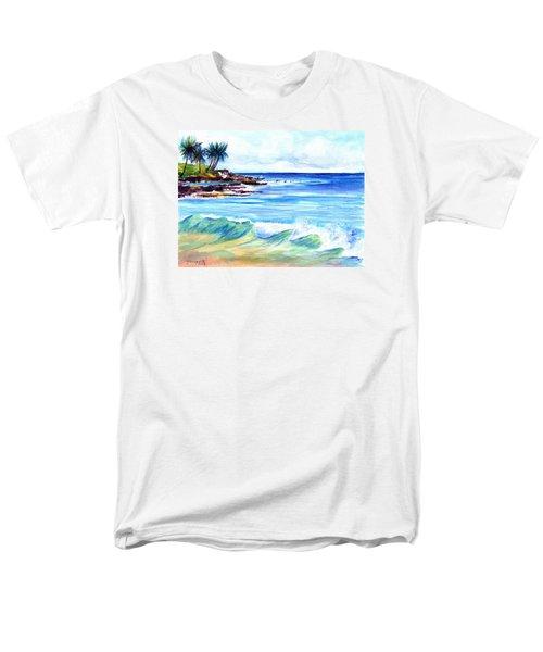 Brennecke's Beach Men's T-Shirt  (Regular Fit) by Marionette Taboniar